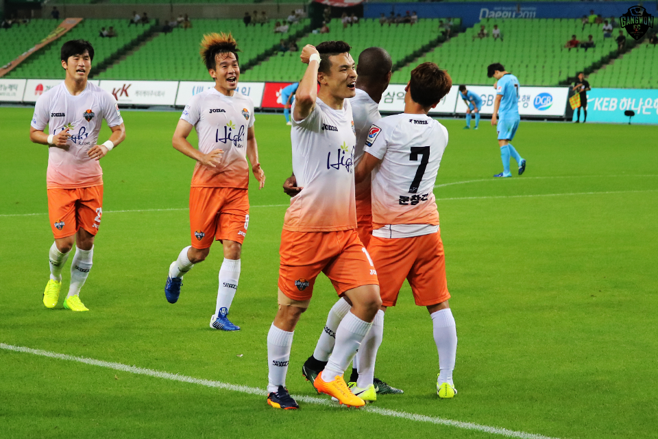 '매 경기 득점' 강원FC, 16경기 연속 득점 기록 달성