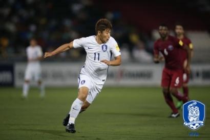 강원FC 이근호, 대표팀 러시아 월드컵 진출 일조