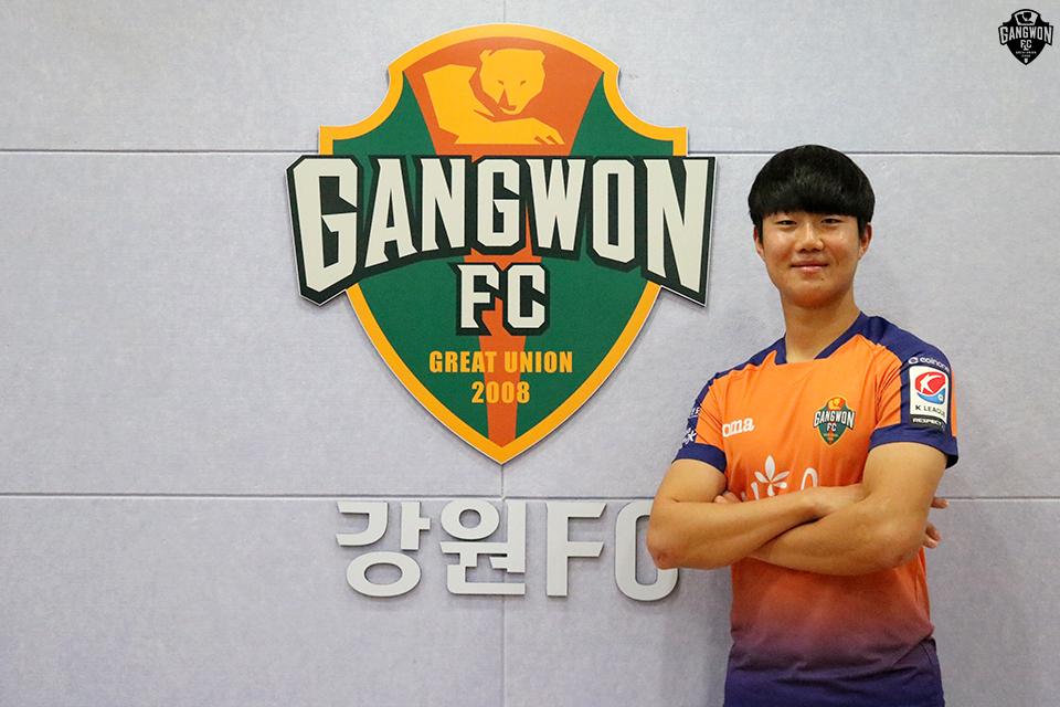 김지현·정성현, 강원FC 최전방 무게감 높인다