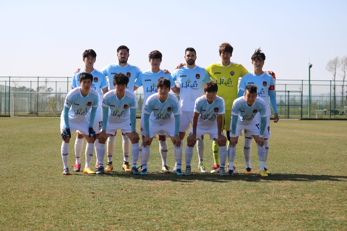 강원FC, 텐진 테다와 평가전 4-0 대승