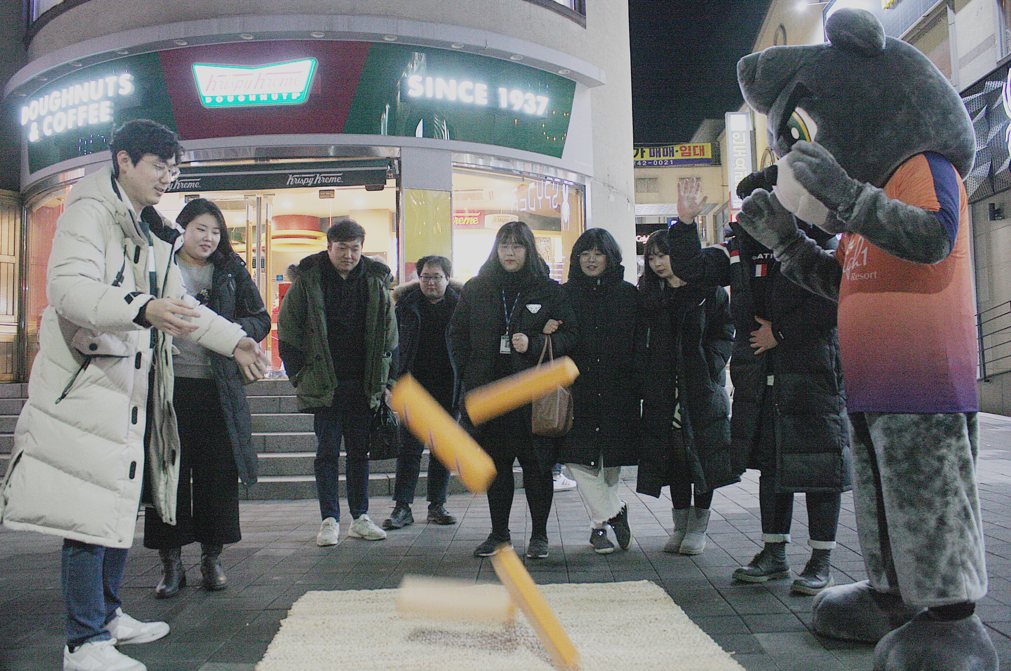 강원FC, 지역주민과 함께하는 '게릴라 이벤트' 대성황