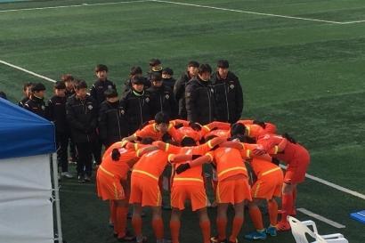 강원FC U-15, 도 소년체육대회 참가 '목표는 우승'