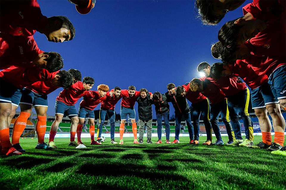 '후반기 도약 준비' 강원FC 다음 달 4일부터 전지훈련 시작