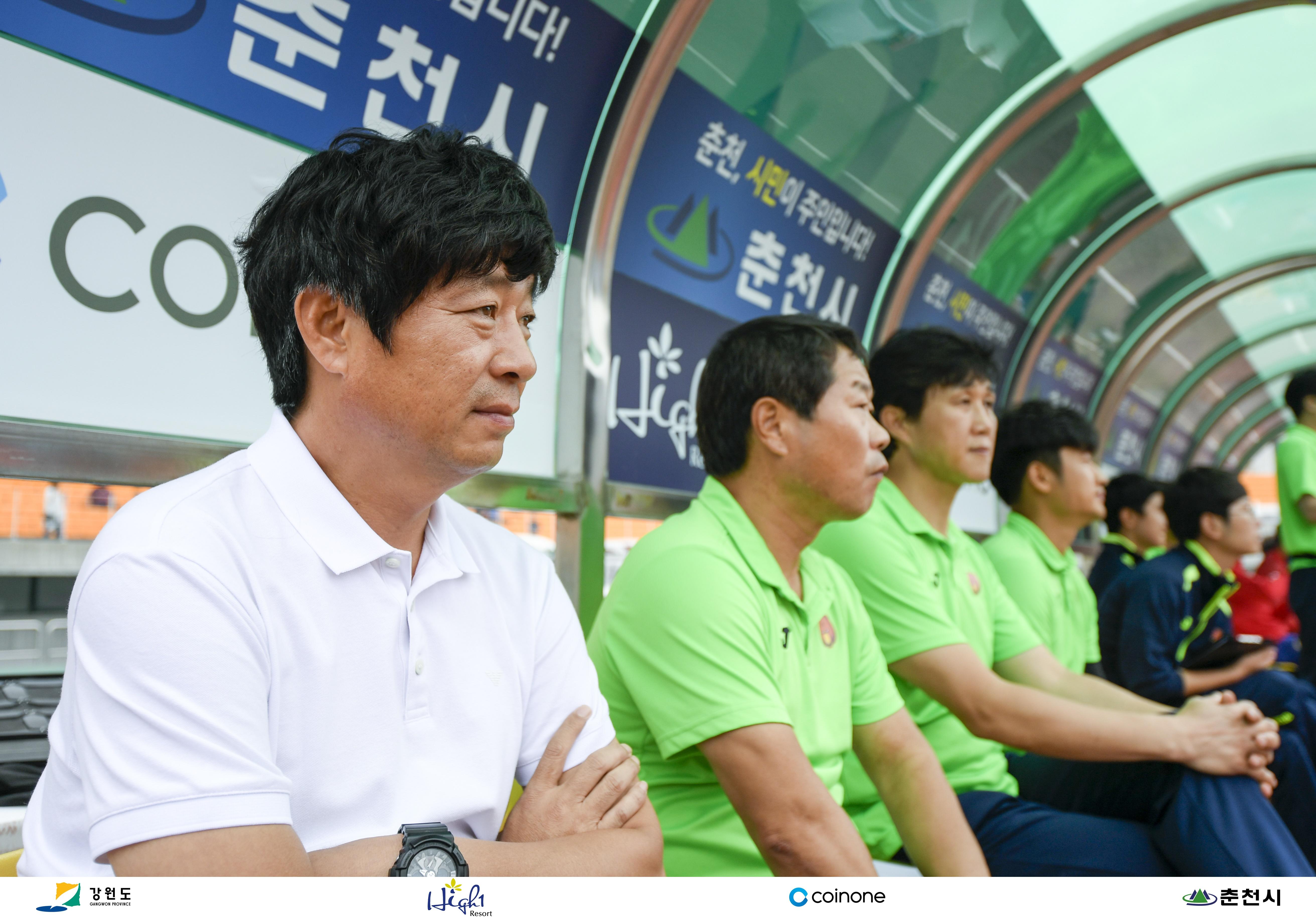 강원FC, 김병수 감독 재계약…명문 도약 노린다