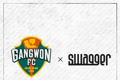 강원FC × 남성용품 SWAGGER, 2019시즌 함께 한다