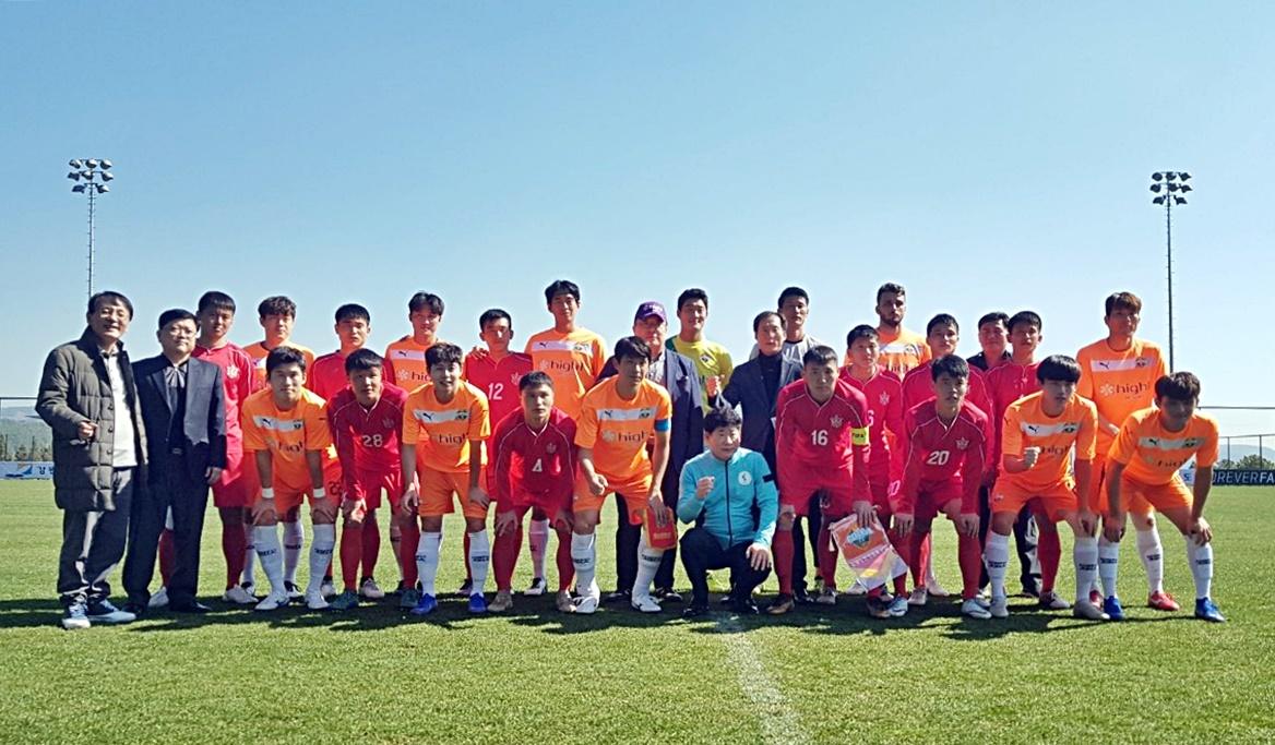 강원FC, '2019 남북스포츠교류전' 북한축구팀과 친선경기로 화합의 장 열어