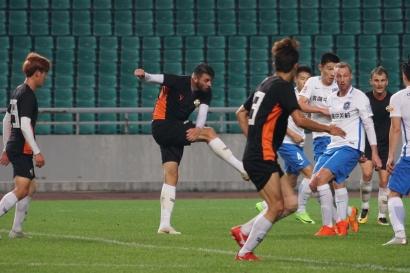 강원FC, 슈틸리케 텐진에 1-0 승리…중국 광저우 연습경기 2연승
