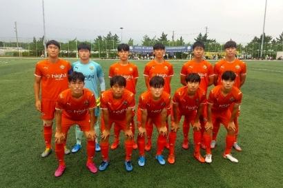 강원FC U-18 강릉제일고 챔피언십 첫 승 신고