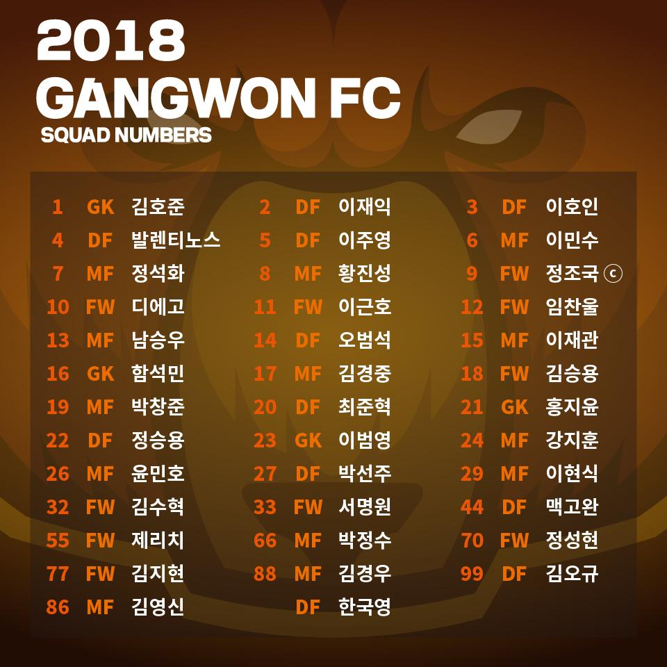 강원FC, '25명 폭풍 영입' 선수단 구성 완료