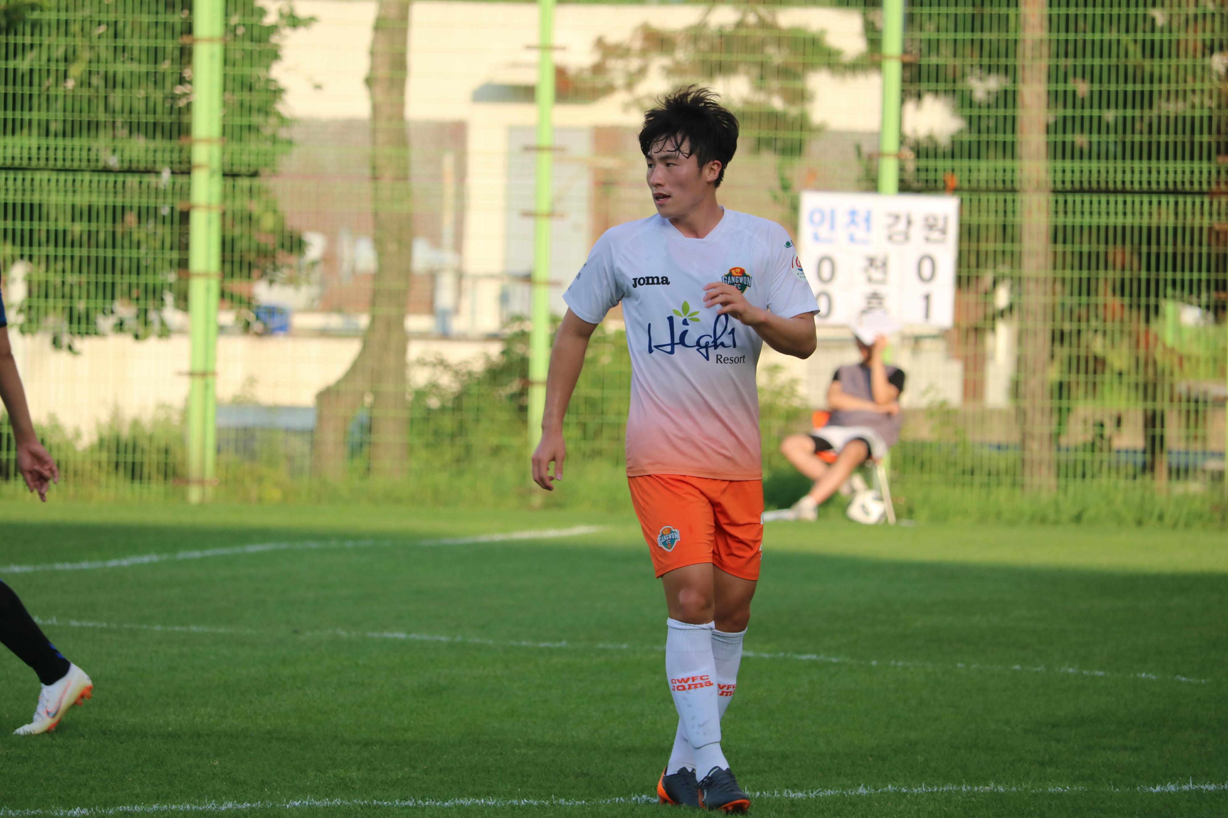 강원FC, R리그 14라운드서 인천 유나이티드에 1-0 승리